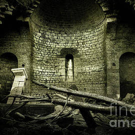 Abandoned church in ruins by Mendelex Photography