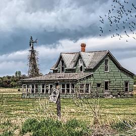 Abandoned in Oklahoma by Debra Martz