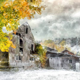 Abandoned Rustic Barn by Betty Denise
