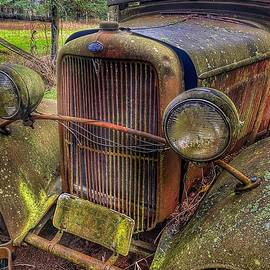 Abandoned Vintage Ford Truck by Jerry Abbott