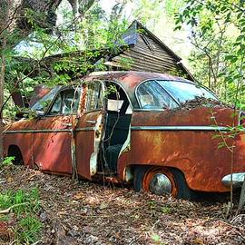 Abandoned Willy's Aero by Lisa Wooten
