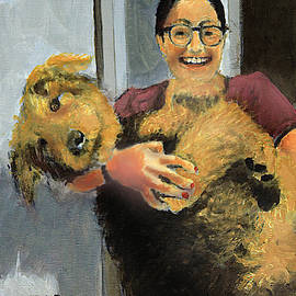Abbie and Dizzy the portraits by David Zimmerman