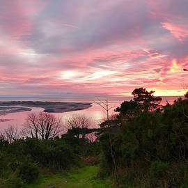 Aberdovey Sunset Wales by Mark Millicent