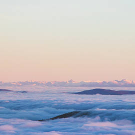 Above clouds and sunset - High Tatras, Slovakia by Vaclav Sonnek