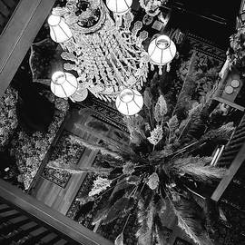 Above the Decor Black and White  by Sarah Niles