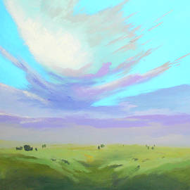 Above the Plains by Nancy Merkle