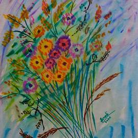Abstract Bouquet by Sonali Gangane