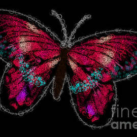 Abstract Butterfly 18 by Bilancy Art