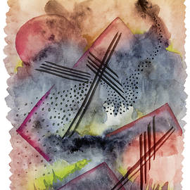 Abstract Deconstruction Composition by Mark Beckwith