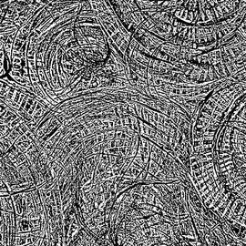Abstract Digital black and wait