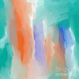 Abstract Expressionism sky painting by Sarah Niebank