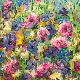 Abstract Flowers  by Marina Wirtz