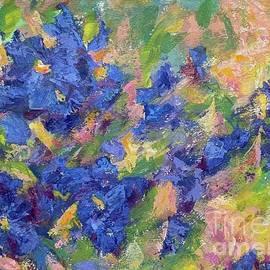 Abstract flowers by Olga Malamud-Pavlovich