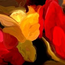 Abstract Flowers by Terri L Parker