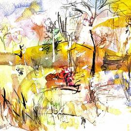 Abstract Forest by Patty Donoghue