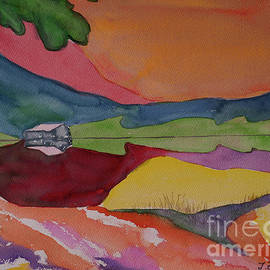 Abstract Landscape Color Fields by Johanna Zettler