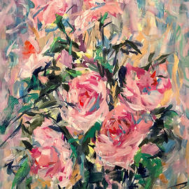 Abstract Roses  by Marina Wirtz
