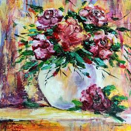 Abstract Roses by Vesna Martinjak