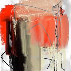 Abstract Scribble Art Spontaneity  by Sarah Niebank