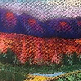 Abstract Sedona Canyon by Michele Volpe