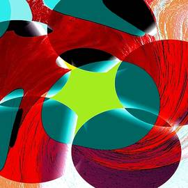 Abstract Spheres by Guy Salem