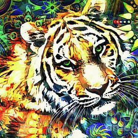 Abstract Tiger by Tina LeCour