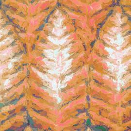 Abstract Trees Fall Season by Deborah League