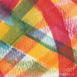 Abstract Watercolor Plaid by Sarah Niebank