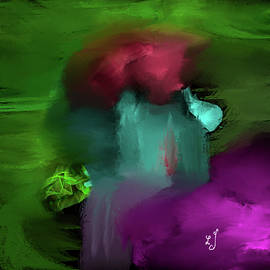 Abstract waterfall #j5 by Leif Sohlman