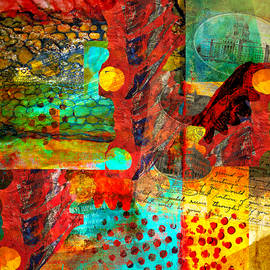 Abstract with a Little of the Past by Sandra Selle Rodriguez