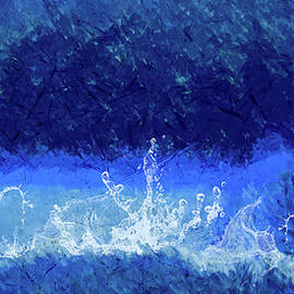 Abstracted Ocean ... by Judy Foote-Belleci