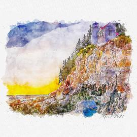 Acadia Lighthouse by Dujuan Robertson