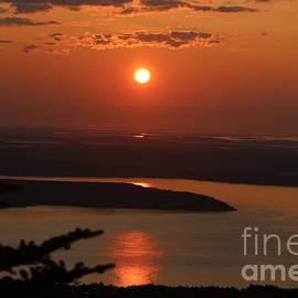 Acadia Sunset by Neal Eslinger