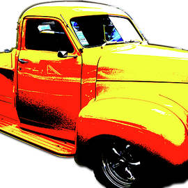 Acid Yellow Truck by Cathy Anderson