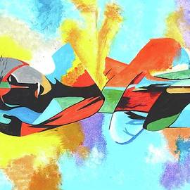 Abstract Modern Art by Subhrata Patel