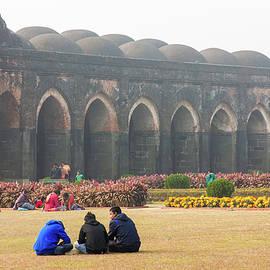 Adina Masjid by Balaji Srinivasan