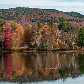 Adirondack Fall Reflection by Linda MacFarland
