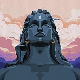 Adiyogi Shiva Yoga Meditation Spirituality by Rajan Supal