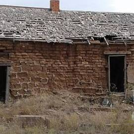 Adobe House Fort Davis Texas by Don n Leonora Hand
