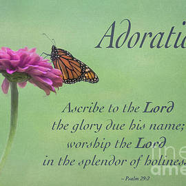 Adoration Psalm 29 by Sharon McConnell