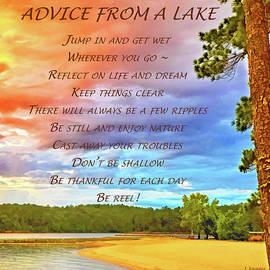 Advice From A Lake by Jennifer Stackpole