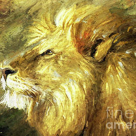 African Lion  by Tina LeCour