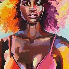 Afro 1 by Magda Santiago