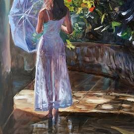 After rain by Elena Sokolova