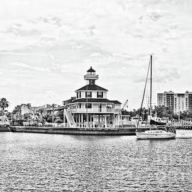 Afternoon on the Water - BW by Scott Pellegrin