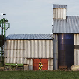 Agricultural Silo by Martin Vorel Minimalist Photography