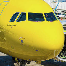 Airbus A320neo Operated by Spirit Airlines by Phillip Espinasse