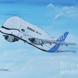 Airbus Beluga Aircraft by Deborah Klubertanz