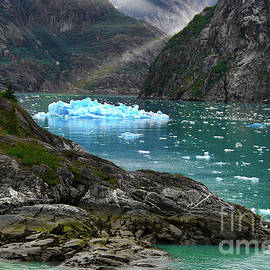 Alaskan Icefield Morning by Michele Hancock