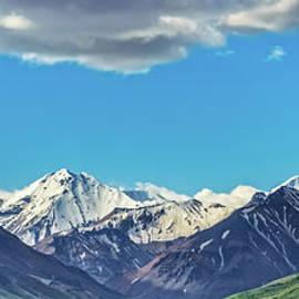 Alaskan Range From Denali by Robert Bales